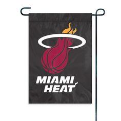 Miami Heat NBA Garden-Window Flag