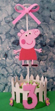 Peppa Pig Birthday Decorations, Peppa Pig Birthday Invitations, Bolo Da Peppa Pig, Cumple Peppa Pig, Pig Party, Dinosaur Party, Aniversario Peppa Pig, Baby Shower Fun, Third Birthday