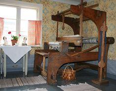 Talo on täynnä kauniita yksityiskohtia ja esineitä.  Oulu (Finland)
