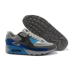 huge selection of 8512e 8e286 Contemporary Nike Air Max 90 Hyp Premium Women Blue Charcoal Gray Shoes   37.35 gou to