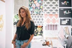 FOX NEWS: HGTV host Genevieve Gorder shares design tips and the importance of the 'She Shed' Best New Shows, Makeover Shows, Genevieve Gorder, Home Goods Store, Amazing Shopping, Fabric Decor, Apartment Living, Hgtv, Shed
