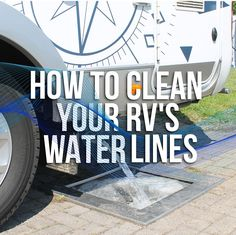 out your water lines will help ensure that your hoses are free of gunk and your drinking water tastes fresh.Cleaning out your water lines will help ensure that your hoses are free of gunk and your drinking water tastes fresh. Rv Camping Tips, Outdoor Camping, Camping Ideas, Camping Essentials, Camping Stuff, Camping List, Walmart Camping, Camping Hammock, Camping Gadgets