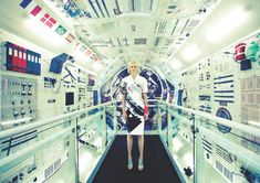 Cosmonaut Couture Shoots : Madison Magazine Space Odyssey