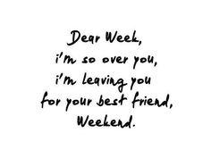 It's Weekend