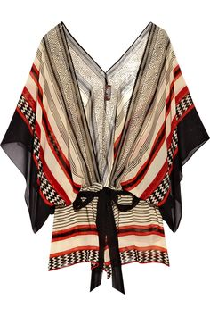 Love this top! Tribal prints are making an entry into style trends. -Penny-