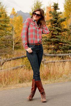 let's go out west. It be so fun to look like a cowgirl ha ha