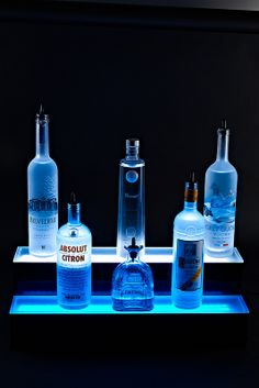 LED BAR SHELF Liquor Bottle Shelves Bottle Display Shelving rack tables