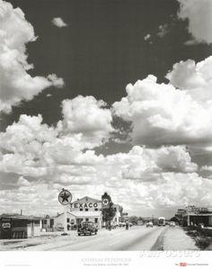 Route 66, Arizona, 1947 Kunstdrucke von Andreas Feininger bei AllPosters.de