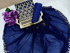 Suits & Dress Materials Stylish Women's Suits & Dress Material Top Fabric: Chanderi Cotton + Top Length: 0-2.00 Mtr Bottom Fabric: Shantoon + Bottom Length: 2.01-2.25 Mtr Dupatta Fabric: Chiffon + Dupatta Length: 2.01-2.25 Mtr Lining Fabric: Shantoon Type:  Pattern: Embroidered Multipack: Single Country of Origin: India Sizes Available: Un Stitched, Semi Stitched   Catalog Rating: ★4 (500)  Catalog Name: Stylish Women's Suits & Dress Materials Vol 1 CatalogID_573976 C74-SC1002 Code: 245-4048629-0831