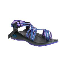 Women's Chaco ZX/2 Classic Sandal ($105) ❤ liked on Polyvore featuring shoes, sandals, casual, casual footwear, wide width sandals, strap sandals, strappy sandals, cushioned sandals and double strap sandals