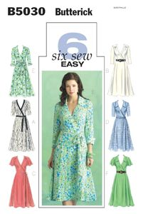 Butterick 5030BUT  I am really drawn to wrap dress patterns :)