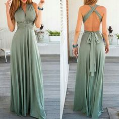 Maxi dress Convertible maxi dress, sleeveless. Shipping for this item takes up to 2 weeks 4dclothingshop Dresses Maxi
