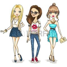 Las chicas de moda photo
