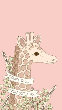 Stand Tall iPhone Wallpapers by Emma Margaret | Wonder Forest: Design Your Life.