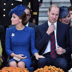 Prince William and Kate Middleton's royal PDA
