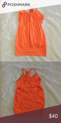 Size 4 Lululemon No Limits tank ✨SALE✨  Size 4 Lululemon No Limits tank  Lululemon No Limits tank worn a few times.  Excellent condition. Lightweight mesh. Has a built in bra. From a smoke free home. lululemon athletica Tops Tank Tops