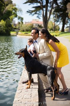 indian family portrait mother baby father dog http://maharaniweddings.com/gallery/photo/10145