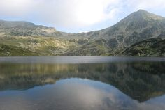 Bucura Lake, Retezat mountains, about 2040m, is the largest glacier lake in Romania. It is also the top touristic atraction in the entire mountain group, since it has a special designated area for camping
