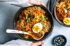 Easy Homemade Ramen Bowls #Ramen #soup #Asian #Japanesefood #homemade #easyrecipes #noodles #ramenbowl #comfortfood Best Ramen Recipe, Vegetarian Ramen Recipe, Ramen Recipes, Snack Recipes, Asian Stir Fry, Homemade Ramen, Ramen Bowl, Amish Recipes, Good Healthy Recipes