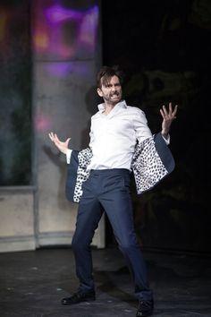 David Tennant. Production stills from Don Juan in Soho.