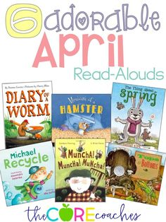 6 Read-Alouds for the month of April for primary grades