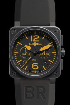 Bell & Ross Chronograph. One cannot have too many nice mechanical watches.