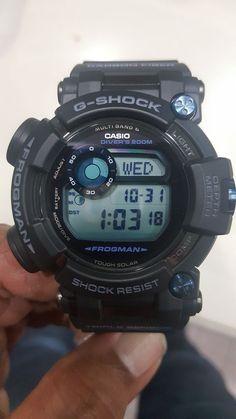 97020659d0e Casio G-Shock Frogman GWF-D1000B-1CR Blue Solar Multiband6 200M Diver s  Watch