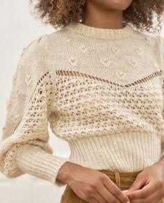 Knitwear Fashion, Crochet Fashion, Diy Crochet, Crochet Hooks, Knitting Stitches, Knitting Patterns, Origami, Winter Fashion, Style Inspiration