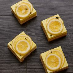 Gluten-Free Lemon Bars with Thyme-and-Brown-Butter-Shortbread Crust  Thyme gives an unexpected aromatic quality to these summery lemon bars.