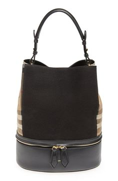 b050d28f575e  1395 Burberry  Medium Beckett  House Check Tote available at  Nordstrom   sponsored http