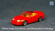 TOMICA 015E NISSAN FAIRLADY Z32 300ZX #WHEELSWAP #LOWDOWN | v.28 | MESH SILVER Old Models, Diecast, Nissan, Auction, Mesh, Car, Silver, Tomy, Automobile