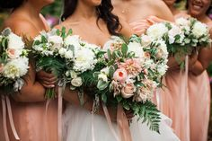 Nicola Adam is a florist located in Vancouver. With a focus on natural, lush garden-like arrangements using only the fre. Floral Wedding, Wedding Flowers, Blush Bridal, Lush Garden, Table Decorations, Bridal Bouquets, Party, Wedding Bouquets, Fiesta Party