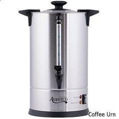 Coffee Urn 30 Cup 1 Gallon Stainless Steel
