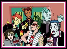 The Boys of monster high