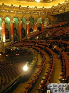 The Fillmore, Detroit, formerly the Fox Theater ...I use to sit up in this balcony.