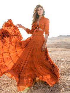 'Tis the season... Pumpkin season 🧡 Items: Ana Rumba Shirt, Sienna and Ana Rumba Skirt, Sienna #boholuxe #bohochic #inspohunter #tonaldressing #erikapena #sustainablymade #whatshewore #balistyles #fashionideas #howtowear #daytonightlook #sustainablefashion #luxuryresortwear #instafashion #fallcollection #bohemianfashion #dailyoutfit #supportsmallbusiness #autumnfashion #ethicallymade #falloutfit #ootd #bohoinspired #autumncollection #bohoboutique #boholook #bohodress #tonaloutfit… Bohemian Style Dresses, Boho Dress, Boho Aesthetic, Boho Boutique, Bali Fashion, Boho Look, Resort Wear, Skirts, Erika