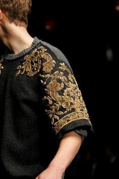Dolce & Gabbana (Autumn - Winter 2012/2013, menswear, catwalk/details) - Milan Fashion Week - Autumn -Winter 2012/2013 (men) - Autumn -Winter 2012/2013 - Collections - All about fashion