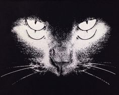 Black Cat Back Patch Punk Patch Horror Black by OneHandPrinting