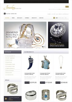 OpenCart Jewelry templates are crafted by assimilating latest trends in technology and fashion world to project out your websites from others. Fitting choices for your jewelry websites and stores, OpenCart comes up with a wide range of jewelry themes for you.