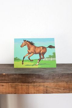 1970s equestrian by experimentalvintage, $14.00 (C.W. Anderson is the original artist). I read many of his books on horses.
