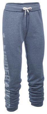 Under Armour Favorite Fleece Pants for Ladies - Midnight Navy - XL