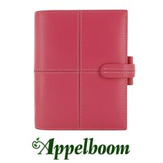 Filofax Classic Pink Organizer. The Filofax Classic organiser is a stylish, timeless design available in a palette of sumptuous colours. Crafted from smooth Italian leather with contrast stitching.