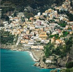 Located on the Amalfi Coast, Italy, Positano is such a romantic and spectacular place, one of that places that you must see at least once in a life.  Be sure not to miss a delicious pizza in Sorrento and in all the area as it will be 100 times better than the pizza you can eat elsewhere in central north Italy.
