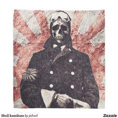 Skull kamikaze do-rag