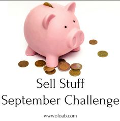 Sell Stuff September is my favourite yearly event. It's where we get to declutter our stuff and free up cash to through towards our financial goals. Weekend Jobs, September Challenge, Life On A Budget, Money Makeover, Present Wrapping, Financial Goals, Tight Budget, Host A Party, Music Lessons