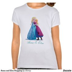 Anna and Elsa Hugging T Shirts