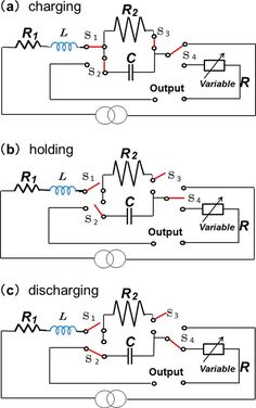 Can capacitors in electrical circuits provide large-scale energy storage? ~ Using capacitors as energy storage devices in circuits has potential applications for hybrid electric vehicles, backup power supplies, and alternative energy storage. Electronic Circuit Projects, Electrical Projects, Electronic Engineering, Electronics Projects, Basic Electrical Engineering, Power Engineering, Power Electronics, Electronics Components, Chemical Engineering