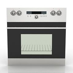 3D Model Oven | Category: Kitchen Equipment