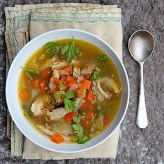 Slow Cooker Turkey Soup   Food & Wine