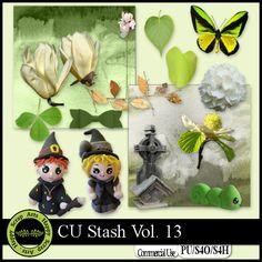 EXLUSIVE CU Stash Vol. 13 mini kit by Happy Scrap Arts